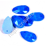 Favorite - Drop Sew-on Stone цвет Blue Neon