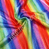 Бифлекс-голограмма Premium - цвет RAINBOW STRIPE HORIZONTAL (RUB-1361)