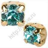 Шатон (117704) - Gold Light Turquoise (081 263), ss 29, Фас. 1 шт.