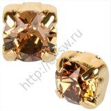 Шатон (117704) - Gold Light Smoked Topaz (081 221), ss 29, Фас. 1 шт.