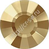 Стразы Swarovski - 2034 Concise Flat Back цвет Golden Shadow 001 GSHA