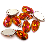Favorite Premium - Drop Sew-on Stone цвет Fireopal
